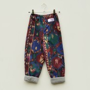 Burgundy Aztec Kids Lined Trousers