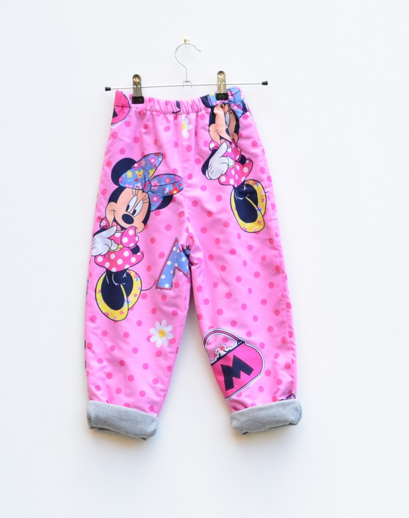 minnie mouse cosy trousers kids