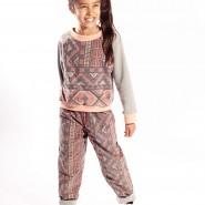 aztec print kids outfit