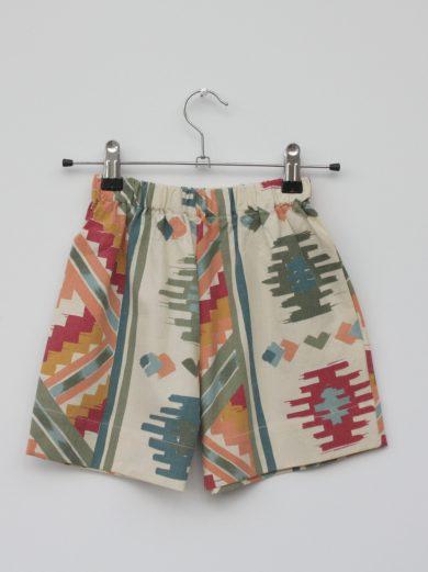 aztec kids shorts