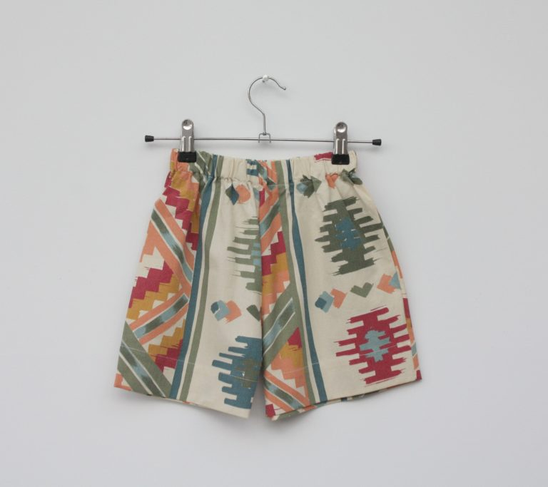 aztec kids shorts