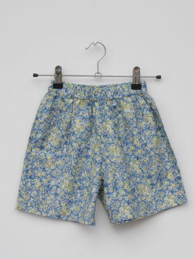 ditsy print kids shorts