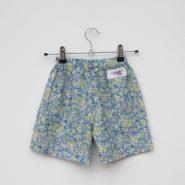 ditsy print shorts back
