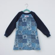 paisley kids dress back