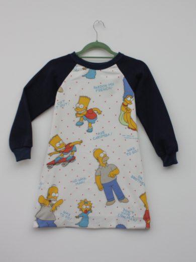 simpsons kids dress