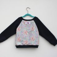 blue paisley jumper