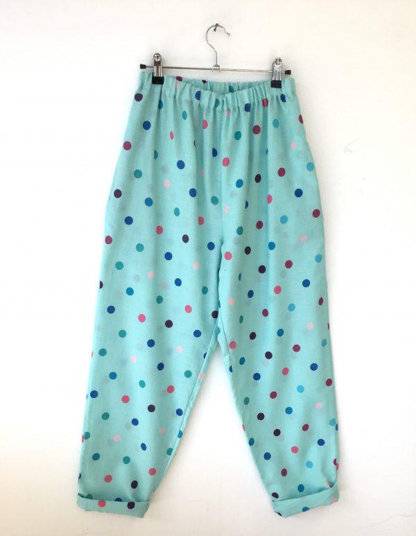 spotty trousers